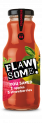 Flawsome! Apple & Strawberry Juice glass bottle