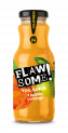 Flawsome! Apple & Orange Juice glass bottle
