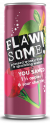 Flawsome! Apple & Sour Cherry Lightly Sparkling Juice Drink can