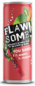 Flawsome! Apple & Rhubarb Lightly Sparkling Juice Drink can