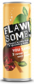 Flawsome! Sweet & Sour Apple Lightly Sparkling Juice Drink can