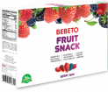 BEBETO JELLY GUM - FRUIT SNACK GROCERY BOX
