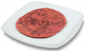 Beetroot Pizza crust