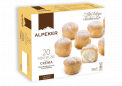 ALPEKER-MINI VANILLA CREAM PUFFS-250g