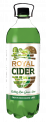 Royal Cider - fruit wine based flavoured cocktail with Cactus-kiwi-guava-lime taste 1 l in PET bottle
