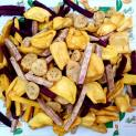 Mixed dried fruits with high nutrients