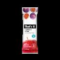 That's it. Apple + Fig Fruit Bar 1.2oz