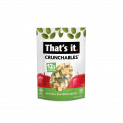 That's it. Crunchables Apple + Pumpkin Seeds 2.5oz Pouch