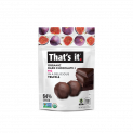 That's it. Organic Dark Chocolate + Organic Fig Truffles 5oz