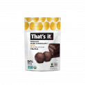 That's it. Organic Dark Chocolate + Organic Date Truffles 5oz