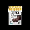 That's it. Organic Dark Chocolate + Organic Date Truffles 5oz