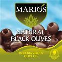 Natural Black Olives
