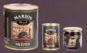Food service tins. A-10 sliced black olives.