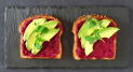 Veggie Toast l with 20% Beetroot
