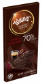 Premium Dark 70% Cocoa Ground Coffee & Cocoa Nibs