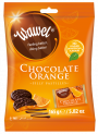 CHOCOLATE ORANGE-  Chocolate pastilles with orange jelly filling (individually wrapped)