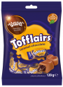 TOFFLAIRS CARAMEL-CHOCOLATE -  caramel toffee with chocolate filling