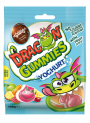 DRAGON GUMMIES YOGHURT - mix of filled gummies in different flavours: rasberry with pineapple filling, orange with cherry filling, lemon with apple fillingDRA