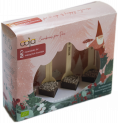 OOjA chocolate stick giftbox fairy forest 60% cacao 4x 30 gr