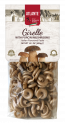 Girelle with porcini mushrooms - Italian flavoured pasta
