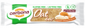 Gluten and lactose free muesli and oat bars