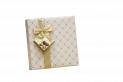 Paper wrapped boxes pralines 200 gr square  different papers possible