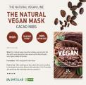 SHES LAB THE NATURAL VEGAN MASK CACAO NIBS