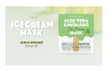 OOTD Vegan Ice Cream Mask-Aloe Vera & Avocado