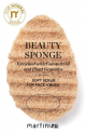 Beauty sponge , soft scrub, with vegetable particles,enriched with Kokos oil - normal skin