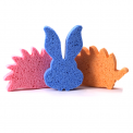 Cellulose sponge - assorted colors and shapes