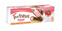Twisties Cookie Straws with Strawberry Cream 125g