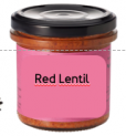 Red Lentil Spread Vegan Organic