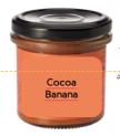 Banana Cocoa Spread Vegan Organic