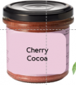 Cherry Cocoa Spread Vegan Organic