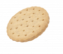 Gluten-free savoury biscuits with cheese flavour