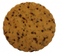 Gluten-free savoury biscuits with seeds ca. 14 % (flax, psyllium and poppy)