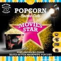 MICROWAVE POPCORN -  POP UP  BOX- BUTTER AROMA