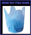Wave Top Bin Liners and Flap Tie Bags