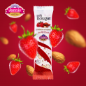 Soft Nougat with Strawberry & Almonds