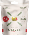 Marinated olives - Red Pepper Stuffed, 30g, 50g - snack size