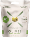 Marinated olives - Basil & Garlic, 30g, 50g - snack size