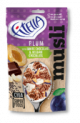 FITELLA MUSLI Plum, White Chocolate, Crunch with Belgian Chocolate and Chia 50 g