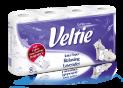 Veltie Bath Tissue Aroma line 8rolls 150sh (Camomile, Lavender, Sea Breeze)