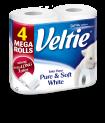 Veltie Bath Tissue Doublerolls 4rolls 300sh+ FSC (pure white or camomile)
