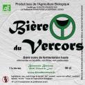 Bière du Vercors noire (beer)
