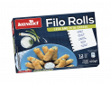 Filo Rolls with Leek and Feta Cheese