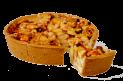Burgundy Apple Pie (bake off)