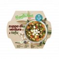 VEGETABLE SOUP WITH TOFU