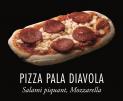 Pizza Pala diavola 170g