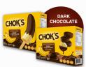 Chok's (Choco banana frozen) Slices
